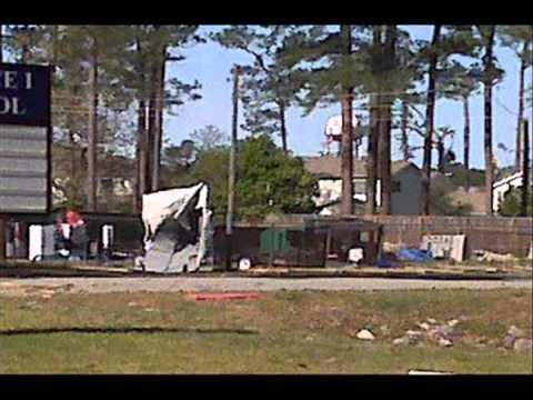 Jacksonville Nc Tornado Youtube