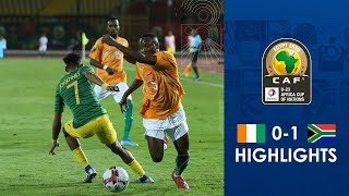 HIGHLIGHTS | #TotalAFCONU23 | Round 2 - Group B: Ivory Coast 0-1 South Africa