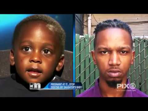 My mom had me at 13.. I had OUR baby at 17..You are the father! | The Maury Show