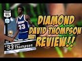 NBA 2K17 DIAMOND DAVID THOMPSON MYTEAM PLAYER REVIEW!!