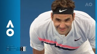 Federer and Berdych's light-hearted exchange | Australian Open 2018 thumbnail