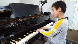 Daniel Lao playing Bach Invention No. 4