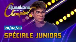 SPECIALE JUNIORS - EMISSION DU  28 FÉVRIER 2020