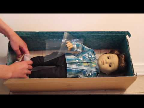 HUGE American Girl and Etsy Haul + NEW DOLL & Face Reveal