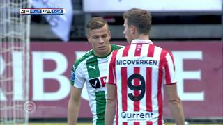 Samenvatting Sparta - Fc Groningen 2-1 29-10-2017
