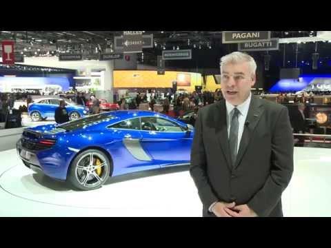 McLaren 650S at Geneva 2014 - Interview with Frank Stephenson, Design Director   AutoMotoTV