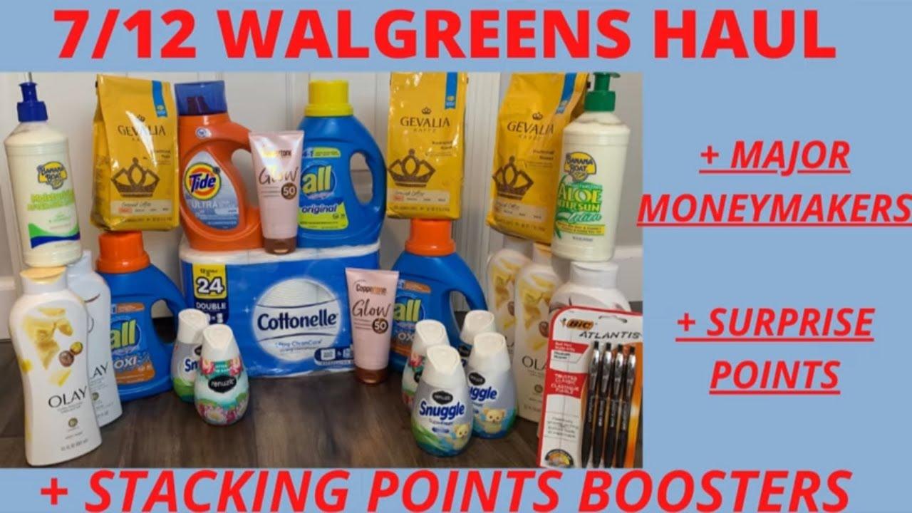 😋{Walgreens Haul 7/12} Walgreens Couponing This Week😆MAJOR MONEYMAKERS😇7/12-7/18 Walgreens Deals