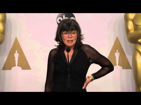 Mad Max: Fury Road: Margaret Sixel (Best Film Editing) Oscars Backstage Interview (2016)