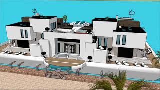 Alternative living on Floating house grand designs in London River Thames TV show 2014 Buckinghamshi