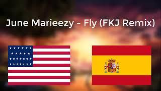 [Lyrics: EN | ES] June Marieezy - Fly (FKJ Remix)