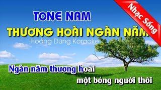 Thương Hoài Ngàn Năm Karaoke Nhạc Sống Tone Nam