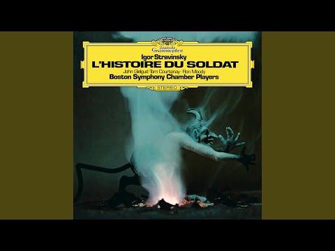 Stravinsky: Histoire du soldat - English Version By Michael Flanders & Kitty Black - 8....