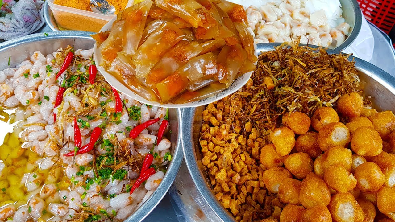 Mâm bánh bèo, bánh bột lọc ( 2k | cái ) 15 năm hút khách bởi nước mắm cực ngon ở Sài Gòn