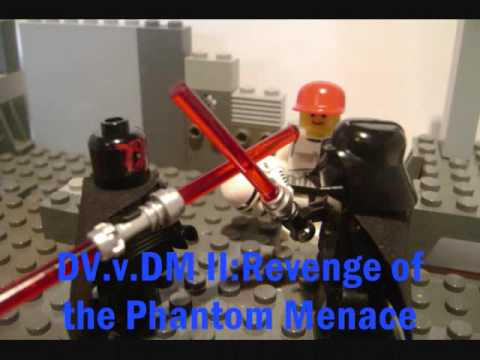 Lego Darth Vader Vs Darth Maul II - YouTube