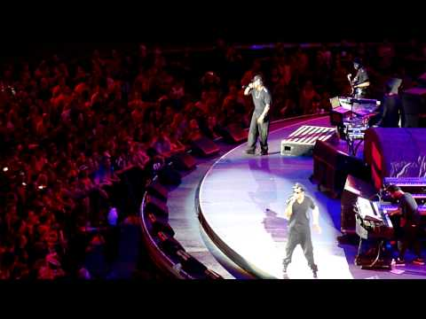 JayZ A Dream HD supporting U2  Brisbane Suncorp Stadium 8 Dec 2010