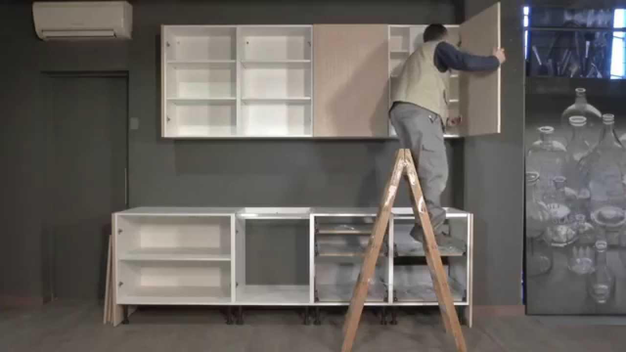 Tpc cocinas montaje de una cocina entera youtube for Muebles de cocina para montar