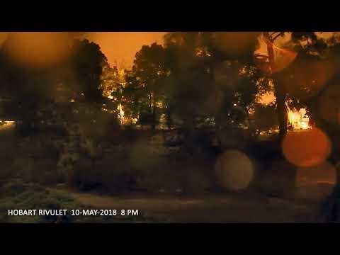 Hobart Rivulet Flood Surge 10th May 2018