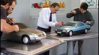 1992 Mercedes 140 series S-Class Coupés design story