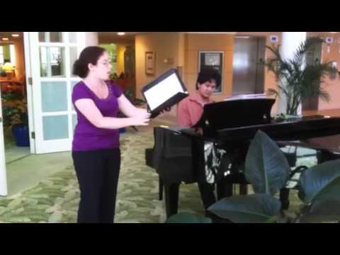 Pie Jesu from the Faure Requiem  Shannon K, Soprano Ben Lertsintupun, Piano