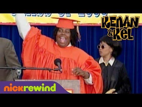 Kenan Disrupts His High School Graduation Ceremony | Kenan & Kel | NickSplat