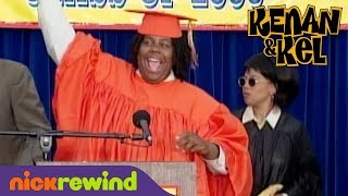 Kenan Disrupts His High School Graduation Ceremony | Kenan & Kel | NickRewind