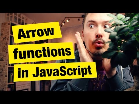 Arrow functions in JavaScript - What, Why and How - FunFunFunction #32
