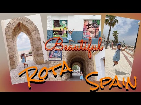 Exploring Rota Spain!! | Life In Spain | Touring Around Rota | Little Traveler