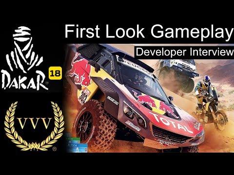 Dakar '18, First Look Gameplay & Developer Interview