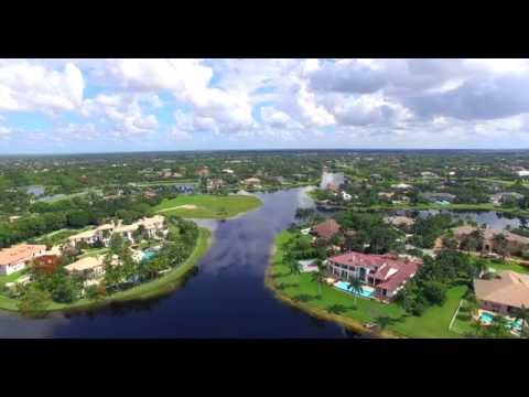 4K Aerial views of Weston, Florida