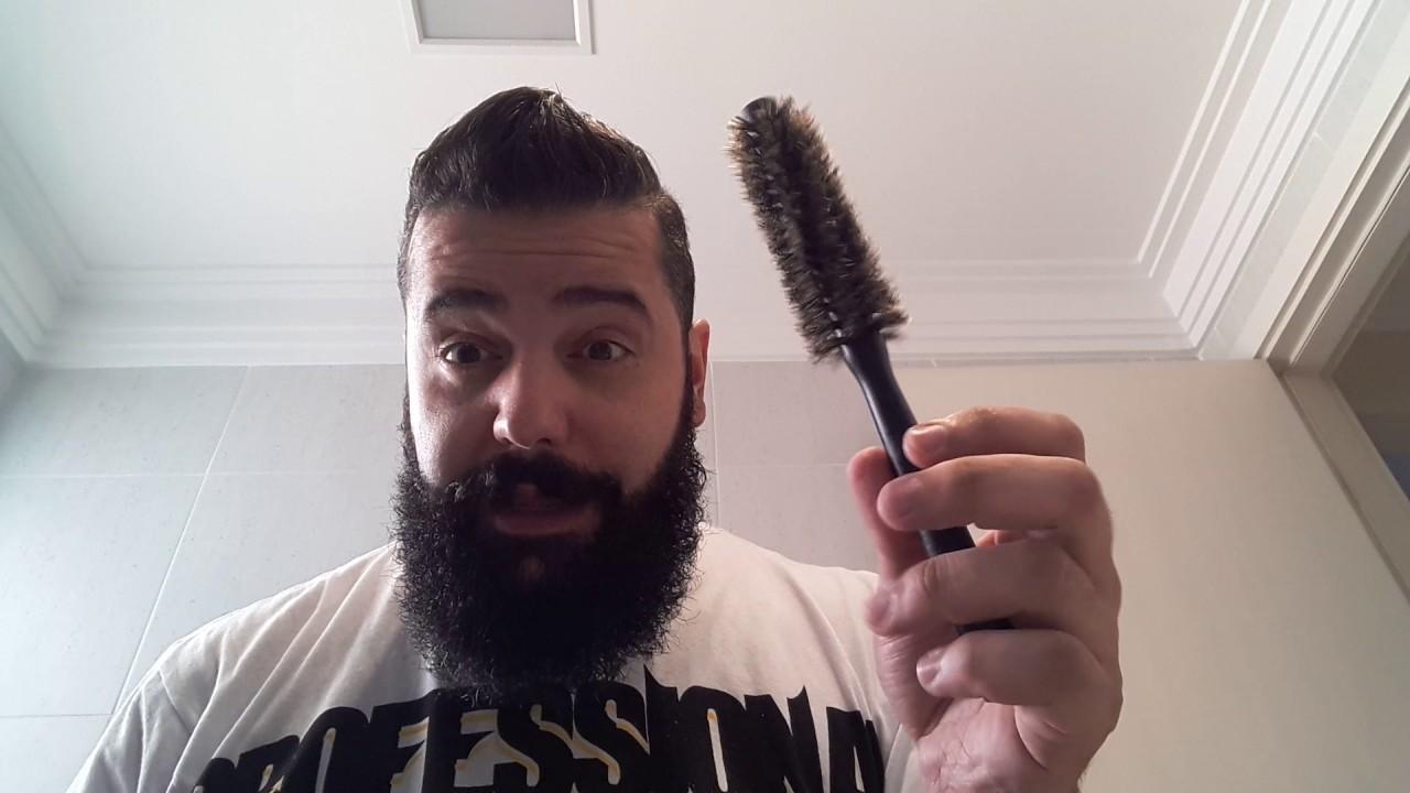 como secar a escova de barbear