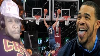 The side of javale the media doesn't show! javale mcgee top 10 plays & dunks reaction!