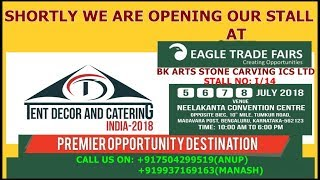 We are At Eagle trade Fair 2018 Bengaluru ¦ trade show exhibits ¦ outdoor trade show ¦ Trade ¦ Fair