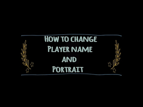 ✔King Of Avalon Tutorials- How To Change Your Player Name And Portrait.✔