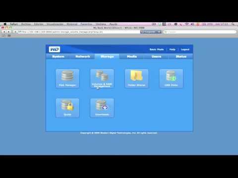 Western Digital My Book World Edition II - 4 TB, videoanális