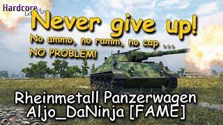 WOT: No ammo, no ramm, no cap ... no problem! Aljo_DaNinja [FAME]