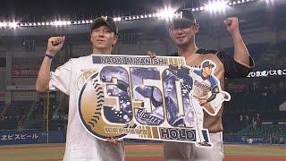 2020年8月12日 北海道日本ハム・中田翔選手ヒーローインタビュー