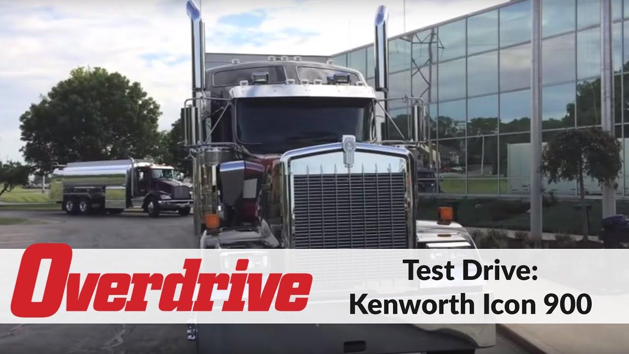 Kenworth Icon 900 test drive