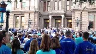 Missy Martinez at #Stand4Life Pro-life Rally Austin Texas