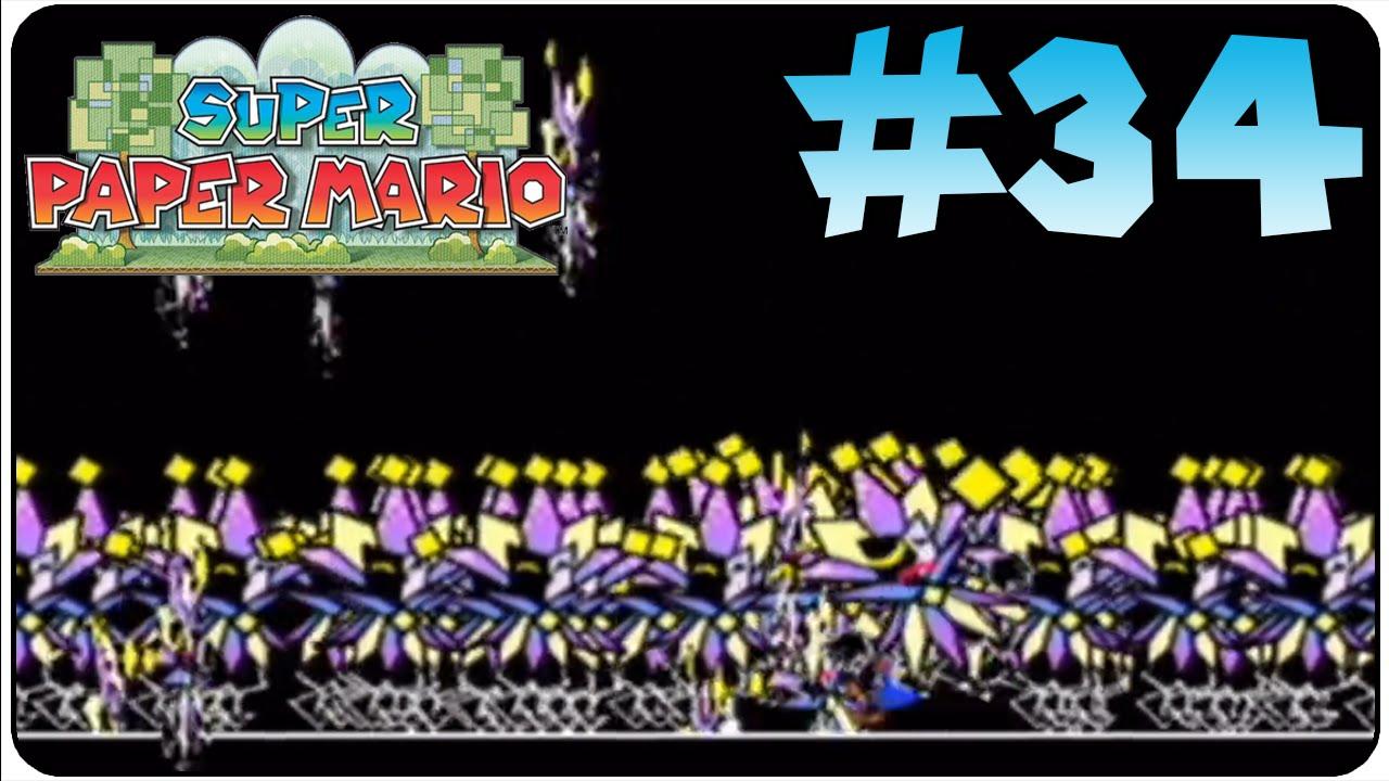Super Paper Mario Walkthrough Part 34 Chapter 8 3 Countdown To