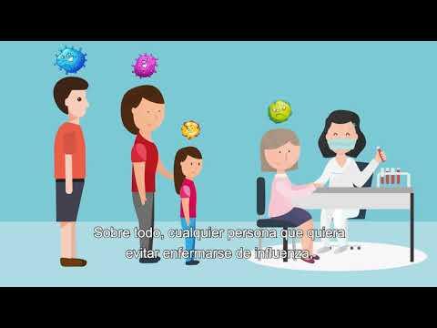 Mantngase sana durante todo el embarazo y durante toda la temporada de gripe