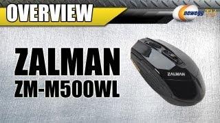 Newegg TV: ZALMAN ZM-M500WL USB RF Wireless Optical 3000 dpi Mouse Overview