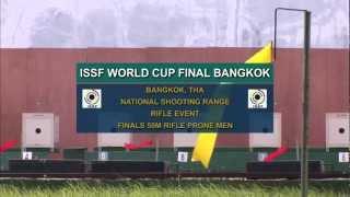 Finals 50m Rifle Prone Men - ISSF Rifle&Pistol World Cup Final 2012, Bangkok (THA)
