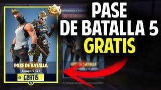 COMO CONSEGUIR EL PASE DE BATALLA 5 TOTALMENTE GRATIS (PC, XBOX Y PS4) Fortnite Battle Royale