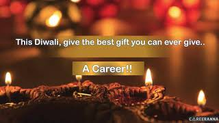 Gift A Career to Someone You Love, This Diwali!