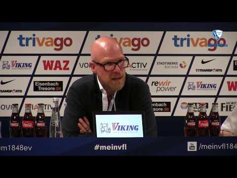 Die Pressekonferenz nach der Partie VfL Bochum 1848 - FC St. Pauli