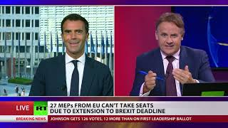27 MEPs from EU can't take seats due to Brexit extension