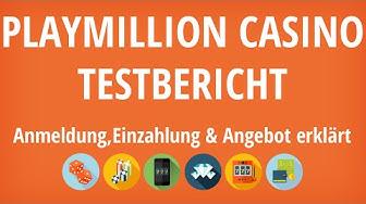 Playmillion Casino Testbericht: Anmeldung & Einzahlung erklärt [4K]
