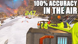 How to be 100% ACCURATE in the AIR (trickshots included) in Apex Legends