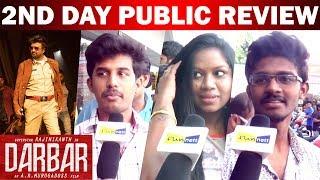Darbar 2nd DAY Public Review | Rajinikanth | Nayanthara | AR Murugadoss