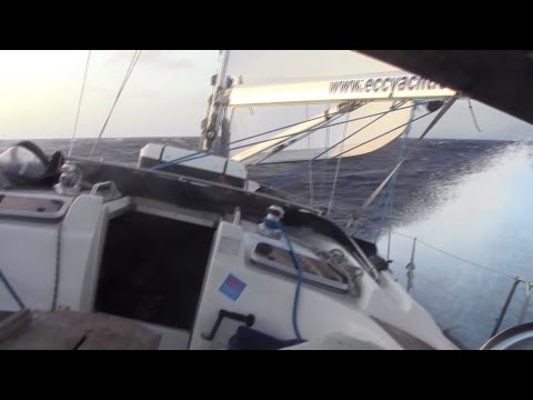 "Fast sailing. 'Don't Panic Ocean!' RC2014. Bavaria 46 ""Watchingman"". Atlas"